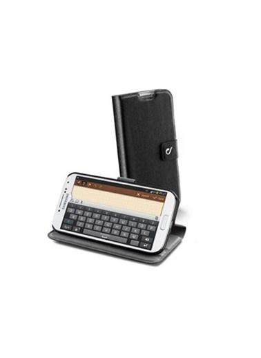 Samsung Cellular L. Galaxy S4 Vision Slim Standlı Kılıf - Siyah (Outlet) Renkli